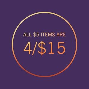 Other - 🛍 4/$15 Sale! 🛍